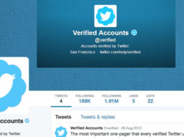 apply for a verified account on twitter