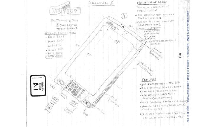 iPhone invention