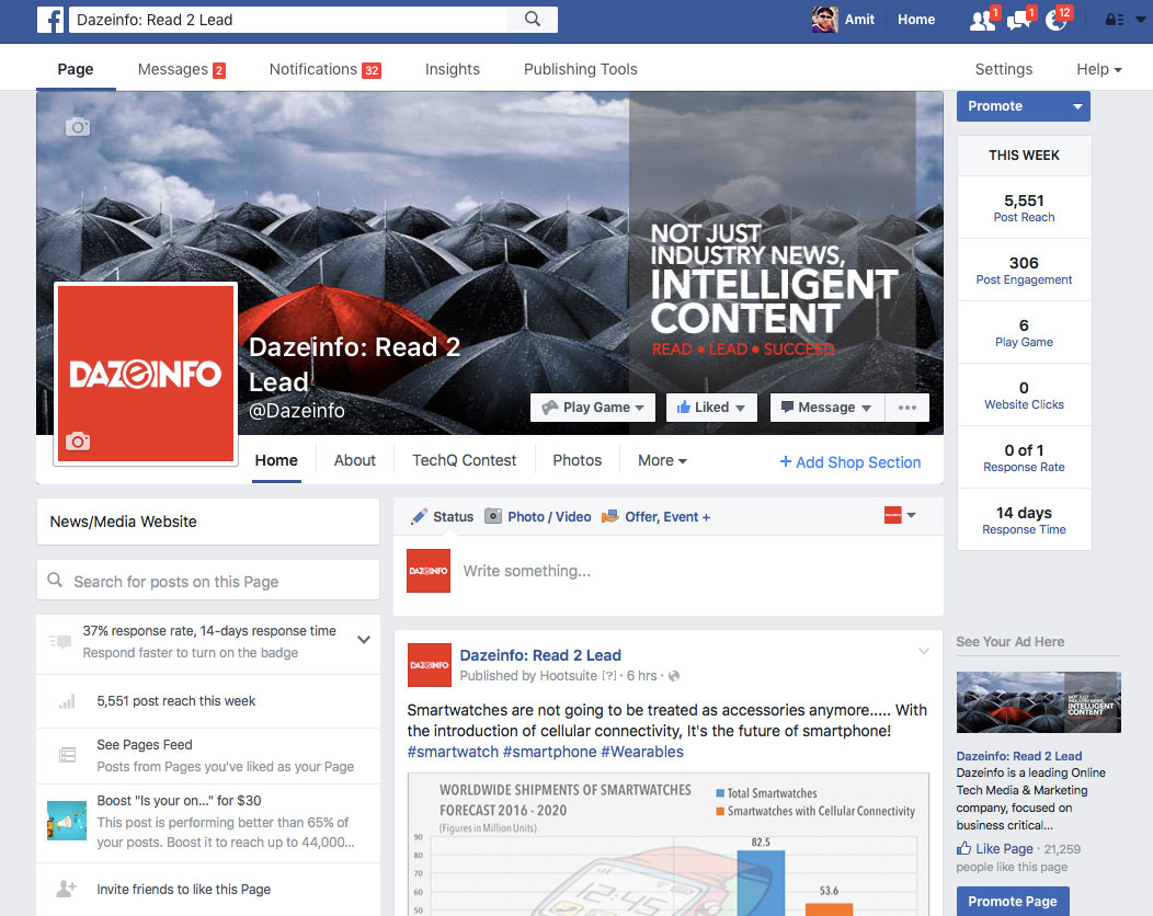 old-layout-of-Facebook-Page