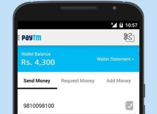 Paytm charges on Credit cards