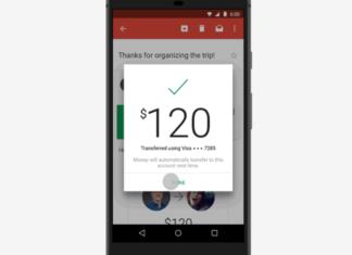 google gmail send money