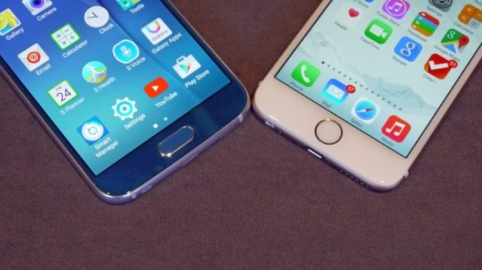 dual sim on iphone 8 vs galaxy s8