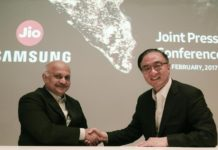 samsung-Reliance-jio-partner