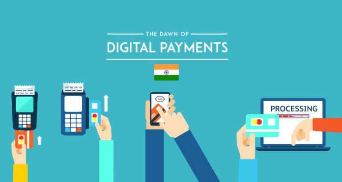 digital payments india 2016 2017 2020