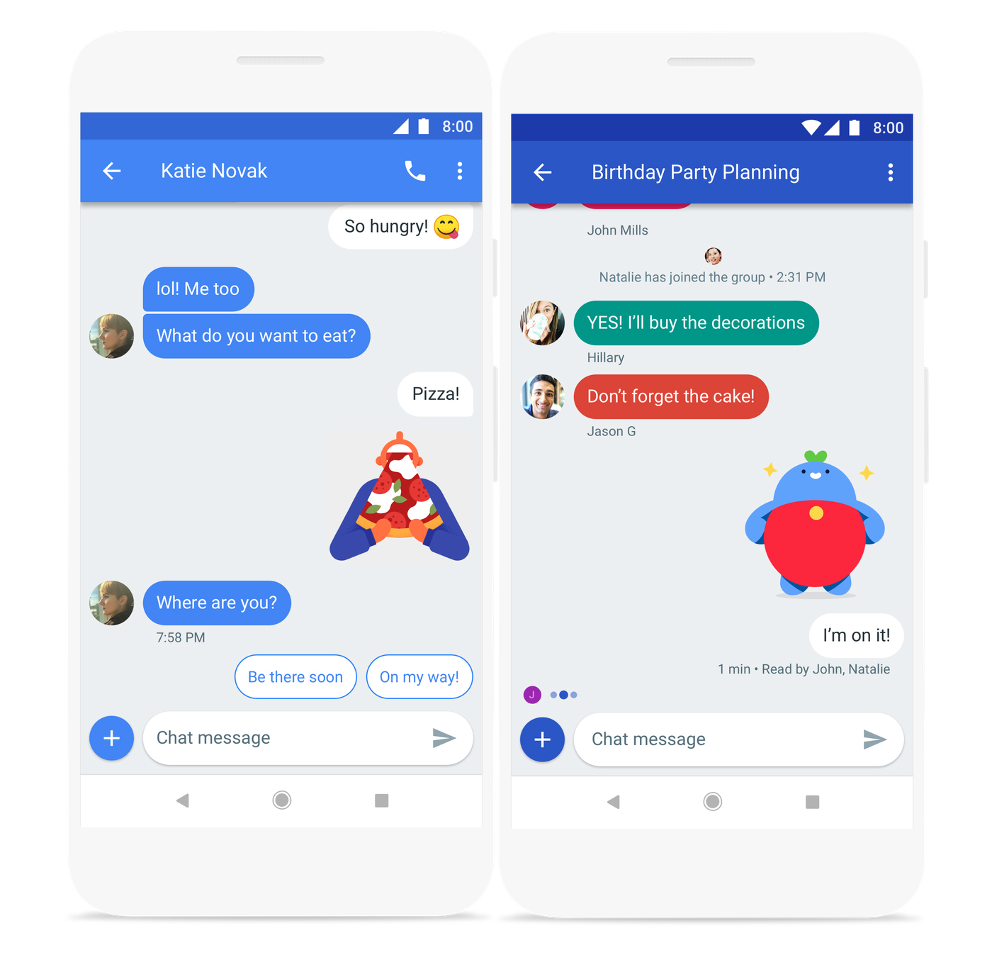 Google Chat Android Messaging app