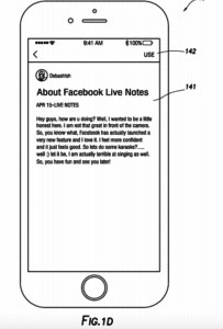 Facebook Live Notes