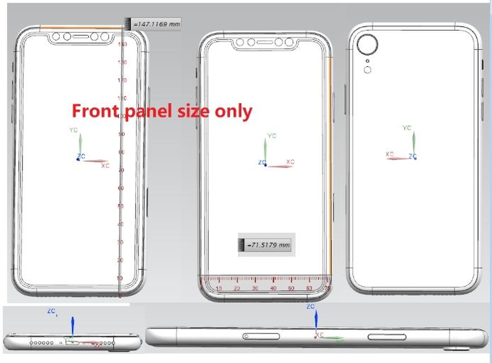 budget iPhone X schematics confirm size and a single rear camera