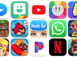 top iPhone apps on Apple App Store