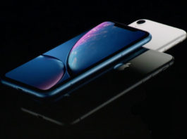 sales of iPhone XR H2 2018