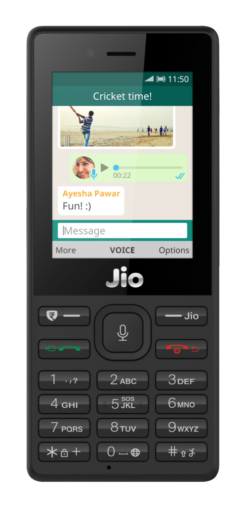whatsapp for Jio phones