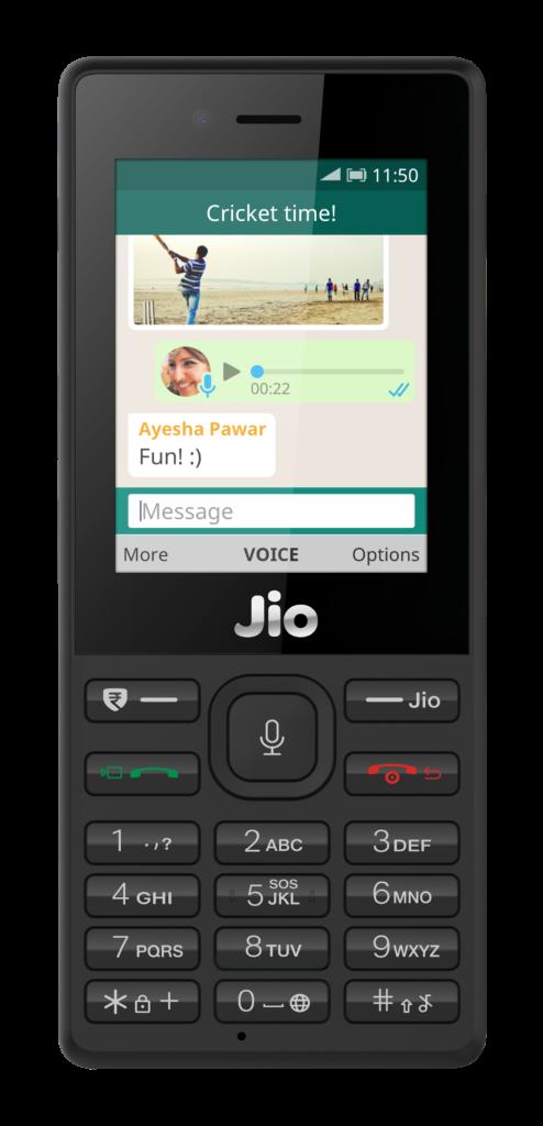 whatsapp for Jio phones