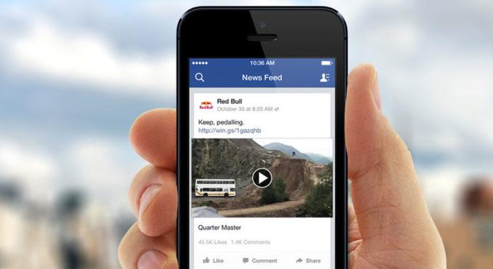 red bull video ad on social media