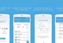 Microsoft SMS organizer app