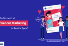 Influencer marketing success for mobile app