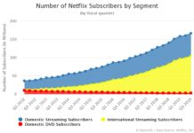 Number of Netflix Subscribers by Segment