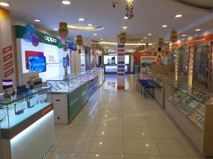 smartphone showrooms india