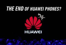 Huawei smartphone exit