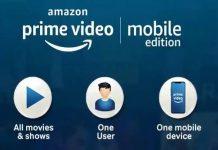 Amazon Prime Video Mobile Only Plan
