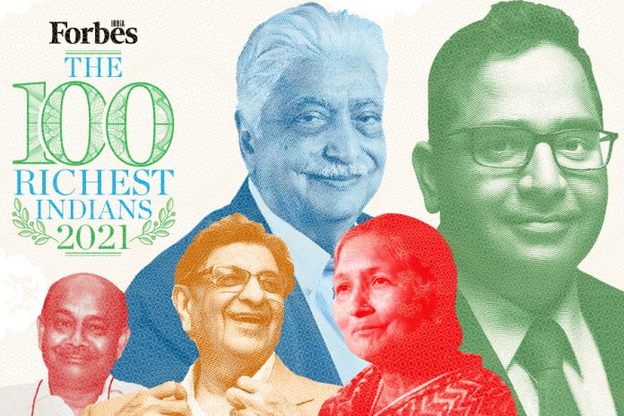 India Richest People 2021